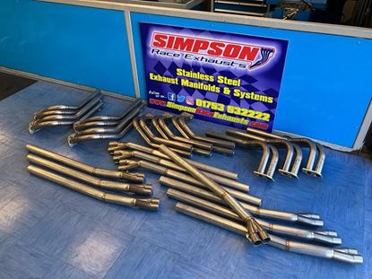 Picture of Corsa C 1.6 16v Stock Rod Simpson Exhaust System