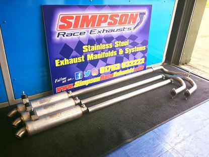 Picture of Junior Rod Corsa C Simpson Exhaust System